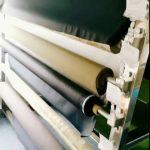 Tissu polyester antistatique à 100% avec fil conducteur