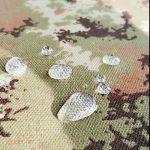 100% polyester différents types de teinture en tissu sergé