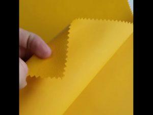 Tissu de sac à dos de stratification de PVC d'oxford de matériel de 100% polyester