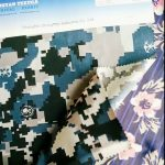 Tissu de camouflage résistant à l'eau en nylon Cordura 1000D