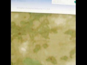 Tissu enduit d'unité centrale de camouflage imperméable à l'eau du nylon 1000D d'oxford