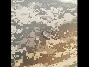 Tissu de veste tactique militaire résistant à la perforation en nylon 500D