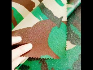 Tissu veste tactique 600D polyester oxford 100 polyester armée
