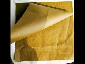 Tissu militaire imperméable en nylon résistant à l'abrasion