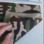 Tissu en coton sergé 80/20 motif camouflage pour uniforme militaire