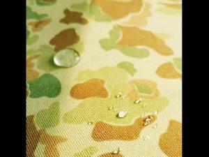 Tissu en nylon imprimé cordura usine 1000 deniers de Chine avec hydrofuge