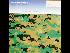 Nylon 1000d imprimé camouflage woodland similaire à un tissu oxford imperméable similaire au cordura