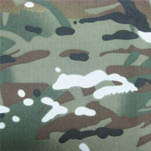 Teflon 100% polyester tissé imperméable à l'eau en plein air camouflage camouflage tissu imperméable