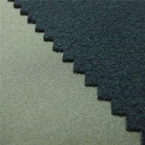 Tissu softshell à membrane respirante en TPU 3 couches avec toison de liaison