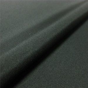 Tissu poly pongé de haute qualité le plus populaire
