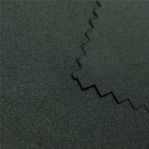 tissu de haute qualité 100% polyester tissu 1/6 sergé pour veste / manteau / vêtements