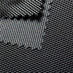 Tissu Oxford en polyester sergé 1680D avec jacquard et textile enduit PU pour les sacs