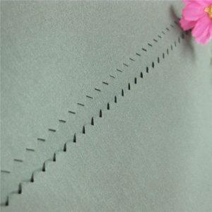 tissu pongé de vente chaude tissu pongé teint par fil de polyester de 100% 190t