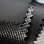 590gsm 0 44mm 1000d * 1000d 20 * 20 couleur brillante pvc enduit de tissu de bâche de tissu de polyester, couverture de camion, chapiteau