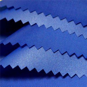 210D polyester laiteux pu revêtement tissu imperméable oxford