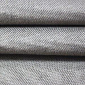 Tissu ignifuge de vêtements de travail de tissu de satin de 350gsm tissu EN11612 FR pour la combinaison