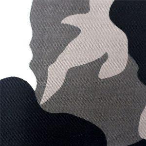 Tissu en coton bleu gris rouge avec des couleurs au choix