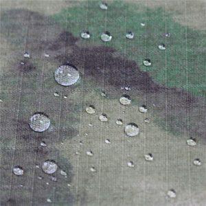 Tissu imprimé de camouflage de tissu du nylon Taslan 228t / tissu extérieur imperméable de nylon de nylon