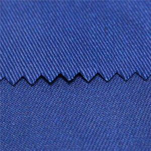 tc polyester coton plaine et sergé actif teint et impression numérique ignifuge vêtements de travail tissu popeline tissu uniforme