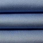 100% coton sergé cardé tissu de vêtements teints uniformes vêtements de travail