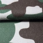 Tissu sergé ignifuge 80% coton 20% polyester