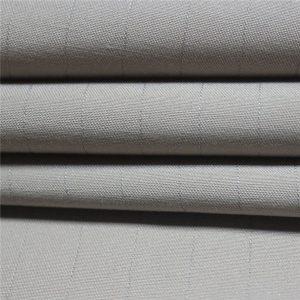 Tissu antistatique d'approvisionnement à long terme / tissu conducteur / tissu d'ESD