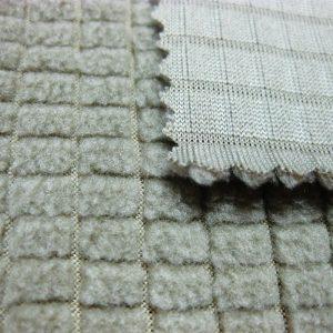 Tissu d'ouatine de polyester / tissu respirable de sergé poly superbe superbe de poly pour des survêtements