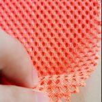 Tricot de chaîne en tricot polyester tricoté maille militaire sac à dos de poche