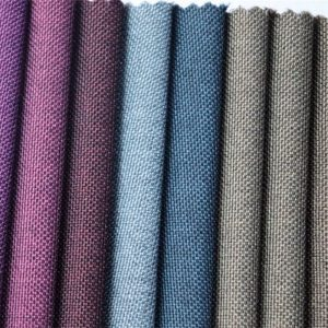 tissu oxford en gros de couleur bicolore en polyester pour sac matériel
