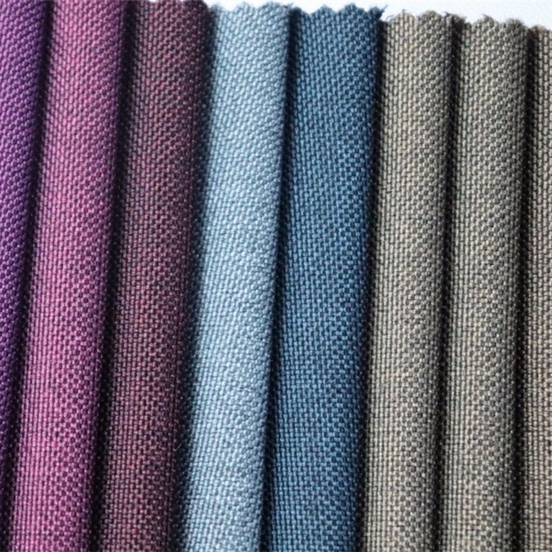 Gros-polyester-deux tons-couleur-oxford-tissu