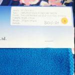 tissu de veste d'hiver antistatique de polyester d'ouatine de polyester de 100% usine