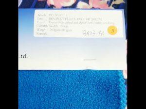 Chine usine 100% polyester polaire anti statique tissu d'hiver veste
