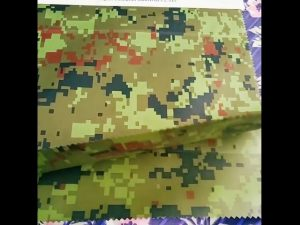 P.U enduit Hydrofuge Toile Tissu Armée Camouflage Militaire Imperméable