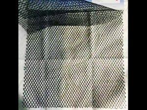 la commande à l'essai 100% polyester armée met en doublure le tissu durable de maille